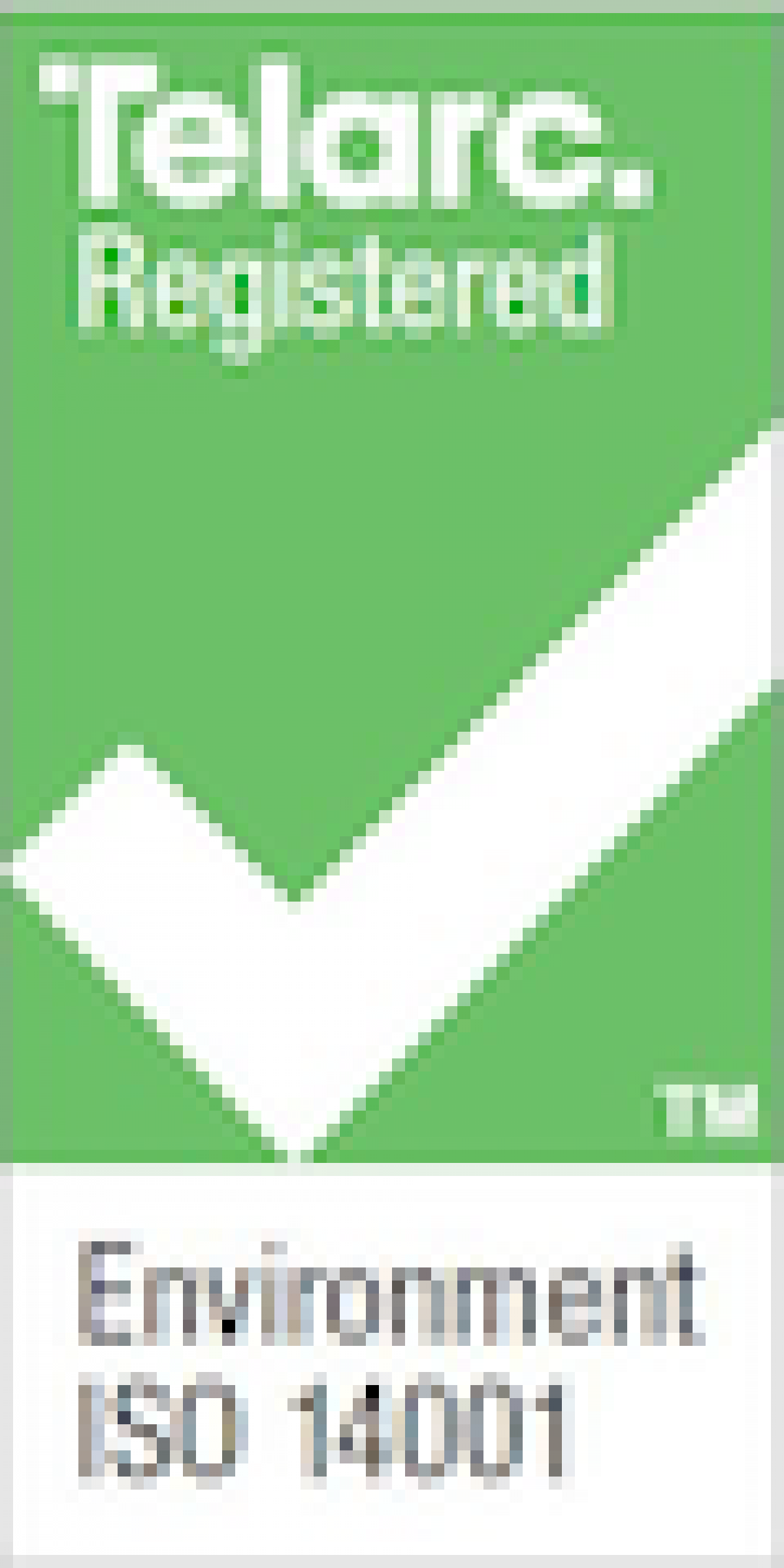 Telarc Environment ISO Logo